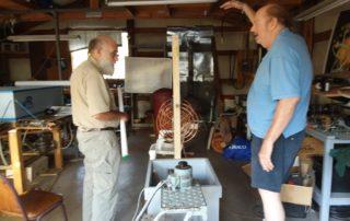 Paul Bacock's Homemade Lakhovsky Multiwave Oscillator